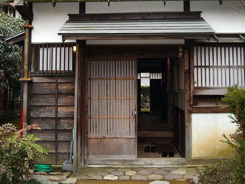 Traditional japanese style bedroom - The Kester House Amp Garden Interior Genkan