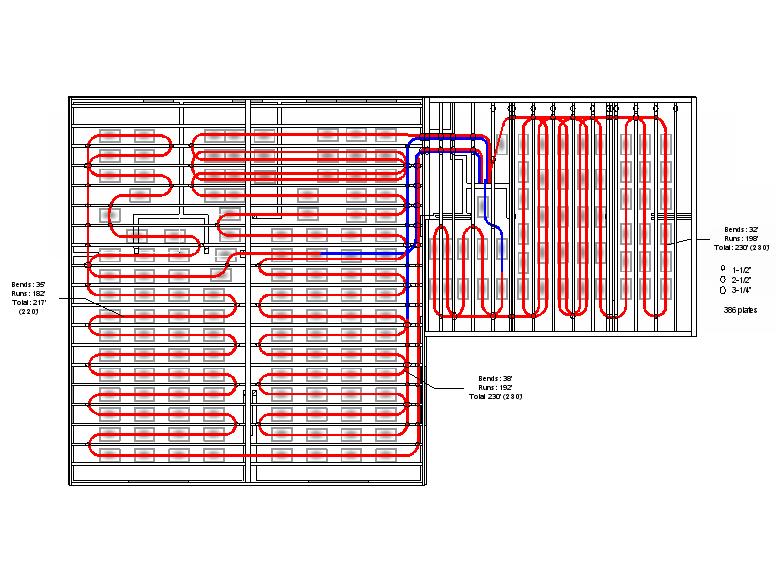 The kester house garden mechanical hvac for Radiant floor design